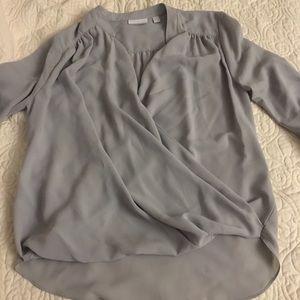 NY&C grey blouse